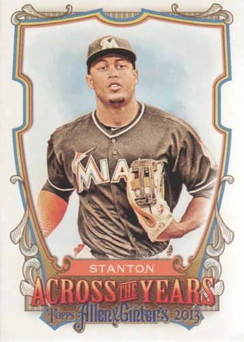 Photo of 2013 Topps Allen and Ginter Across the Years #GS Giancarlo Stanton