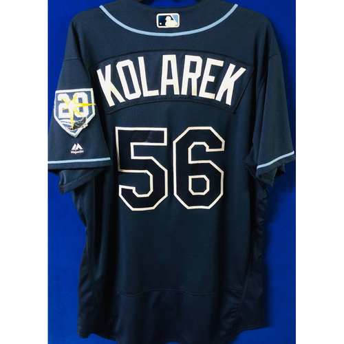 Photo of Game Used Jersey: Adam Kolarek (size 48) - September 29, 2018 v TOR