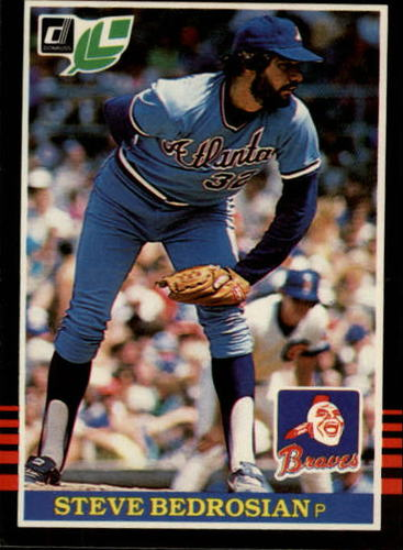 Photo of 1985 Leaf/Donruss #51 Steve Bedrosian