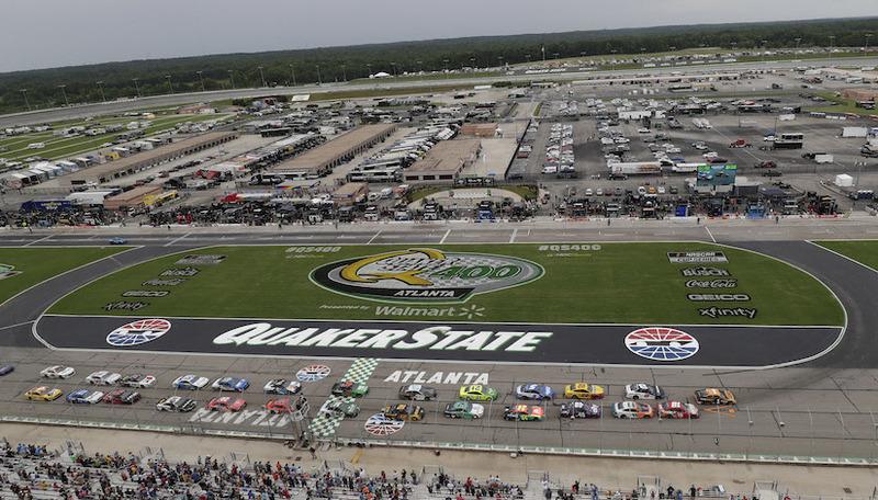 NASCAR QUAKER STATE 400 RACE AT KENTUCKY SPEEDWAY