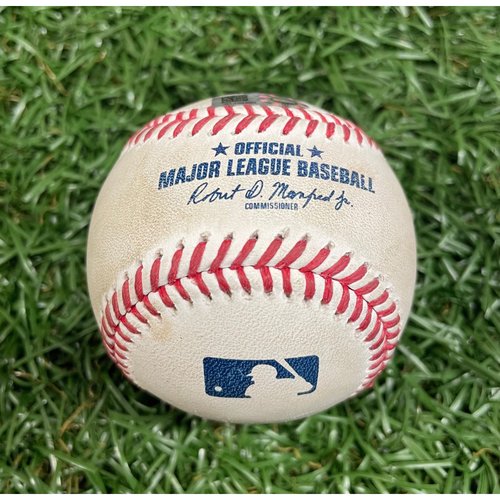 Photo of Game Used Baseball: Charlie Morton strikes out Christian Vazquez - Top 2 - August 4, 2020 v BOS