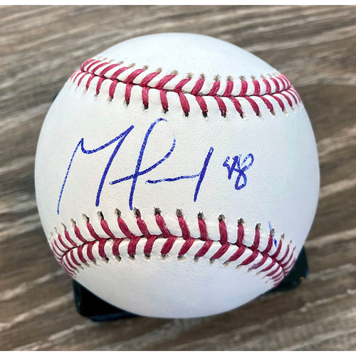Photo of UMPS CARE AUCTION: German Marquez Signed Baseball