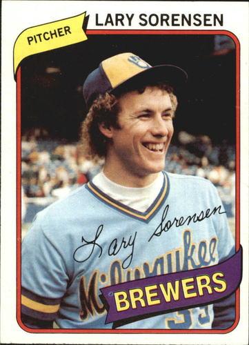Photo of 1980 Topps #154 Lary Sorensen