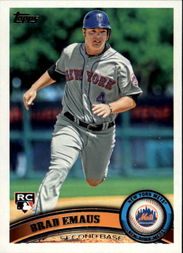 Photo of 2011 Topps #427 Brad Emaus RC