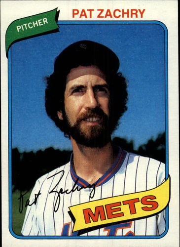 Photo of 1980 Topps #428 Pat Zachry