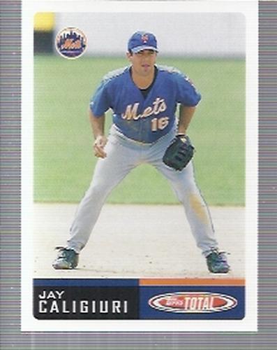 Photo of 2002 Topps Total #384 Jay Caligiuri RC