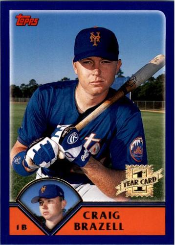 Photo of 2003 Topps #320 Craig Brazell FY RC
