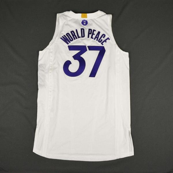 6a3626ac0 Metta World Peace - Los Angeles Lakers - NBA Christmas Day  16 ...