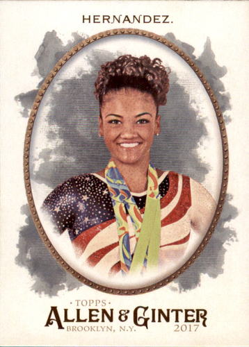 Photo of 2017 Topps Allen and Ginter #274 Laurie Hernandez