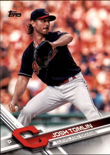 Photo of 2017 Topps #342 Josh Tomlin