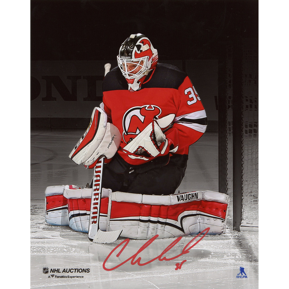 Cory Schneider New Jersey Devils Autographed 8