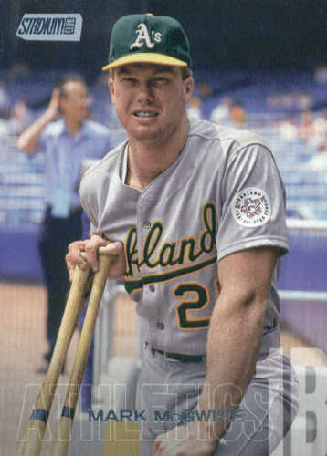 Photo of 2018 Stadium Club #282 Mark McGwire