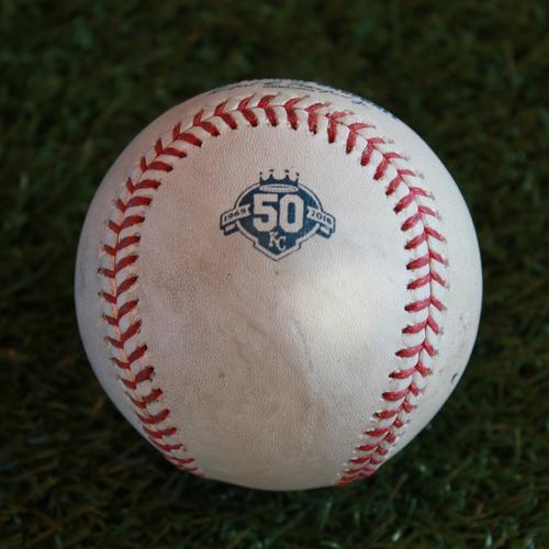 Game-Used Baseball: Josh Donaldson 903rd Career Hit (CLE @ KC - 9/27/18)