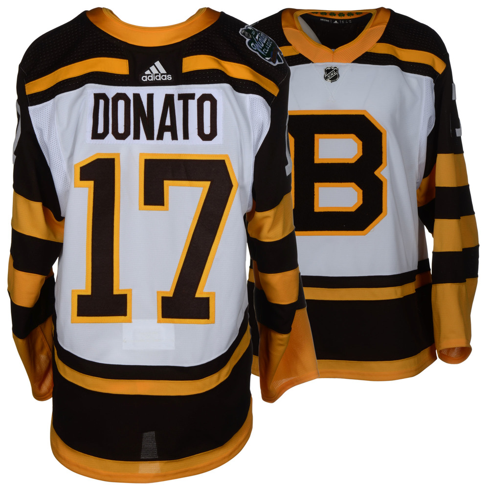 Ryan Donato Boston Bruins Player-Issued 2019 NHL Winter Classic Jersey
