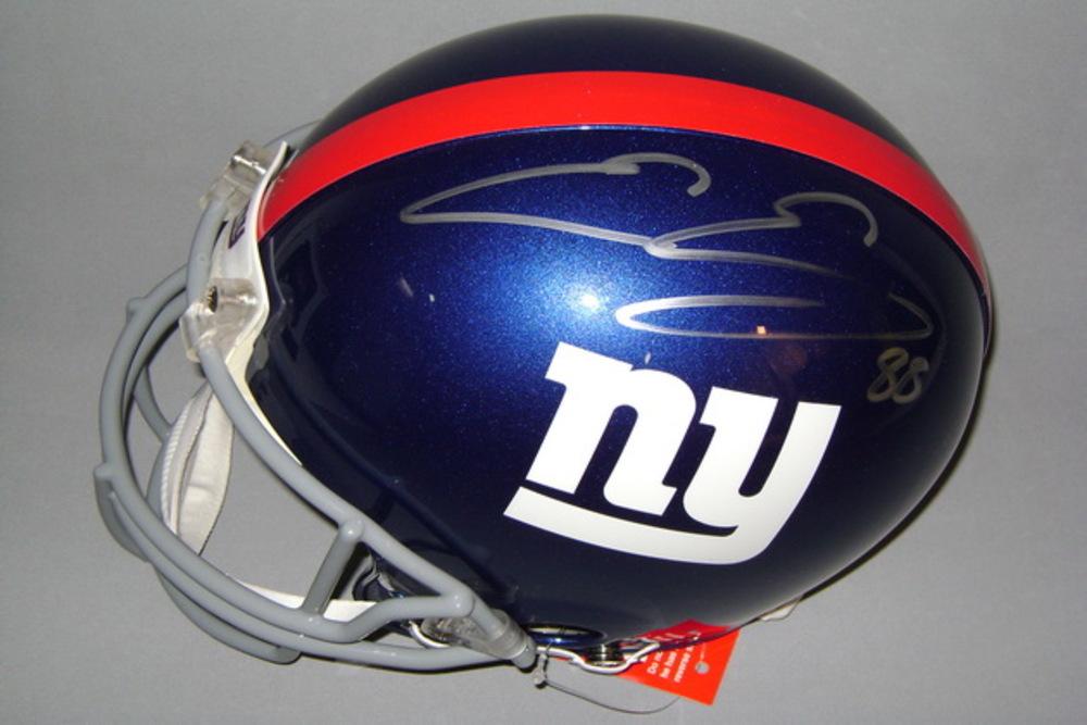 NFL - GIANTS EVAN ENGRAM SIGNED GIANTS PROLINE HELMET