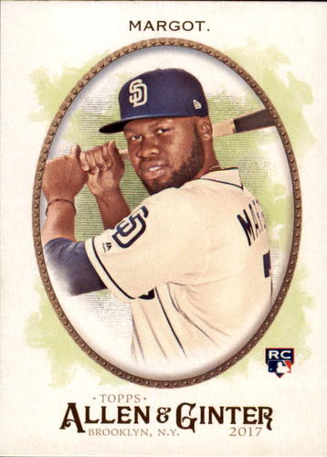 Photo of 2017 Topps Allen and Ginter #166 Manny Margot Rookie Card