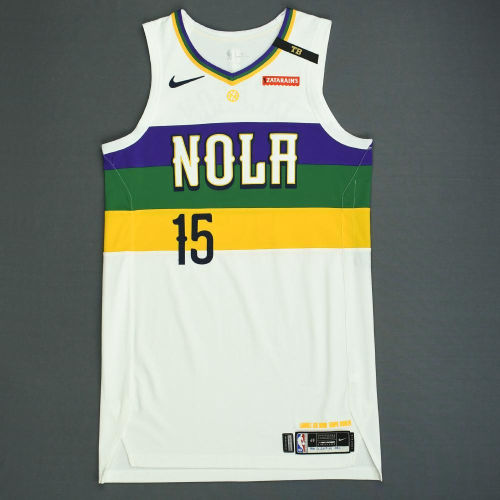Frank Jackson - New Orleans Pelicans - Game-Worn City Edition Jersey - 2018-19 Season