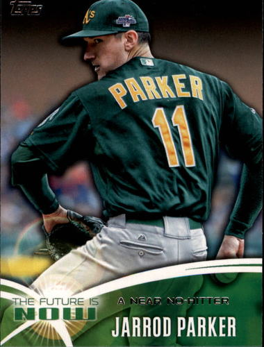 Photo of 2014 Topps The Future is Now #FN50 Jarrod Parker