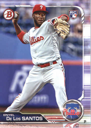 Photo of 2019 Bowman #70 Enyel De Los Santos RC