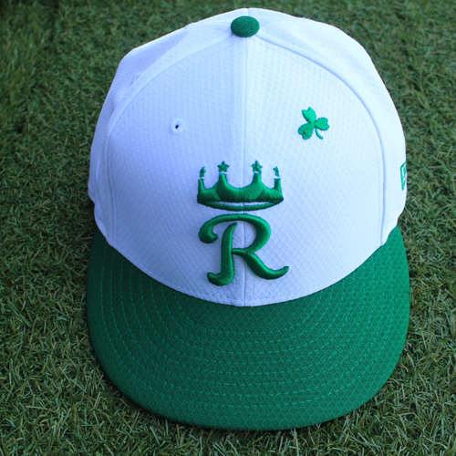 Photo of Game-Used Saint Patrick's Day Cap: Vance Wilson (Size 7 3/8 - SEA @ KC - 3/17/19)