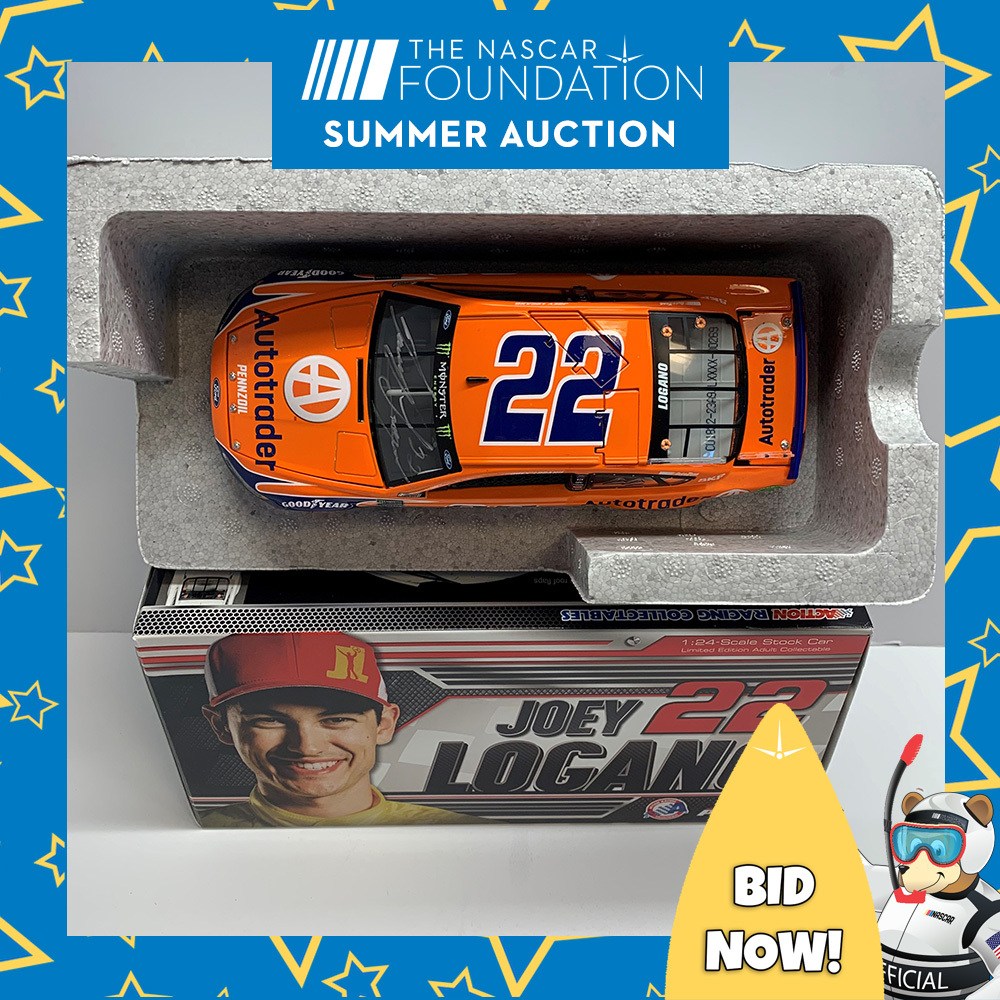 NASCAR's Joey Logano Autographed #22 Diecast!