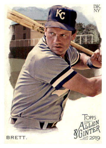 Photo of 2019 Topps Allen and Ginter #109 George Brett