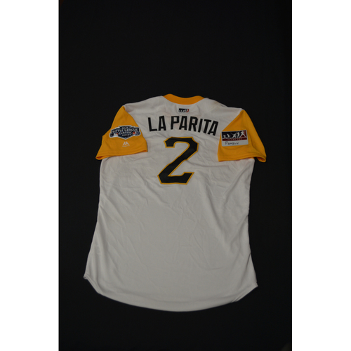 "Photo of 2019 Little League Classic - Game Used Jersey - Erik ""La Parita"" Gonzalez,  Chicago Cubs at Pittsburgh Pirates - 8/18/2019 (Size - 44)"