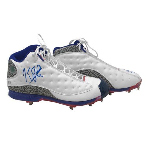 Photo of Kenley Jansen Jackie Robinson Day Cleats - Size 14