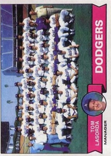 Photo of 1979 Topps #526 Los Angeles Dodgers CL/Tom Lasorda MG