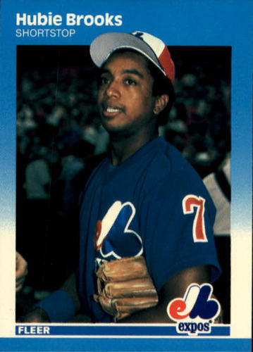 Photo of 1987 Fleer #314 Hubie Brooks