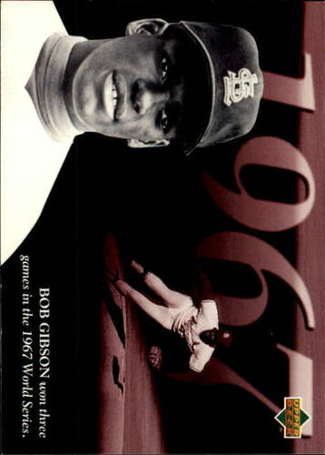 Photo of 1994 Upper Deck All-Time Heroes #119 Bob Gibson ATH