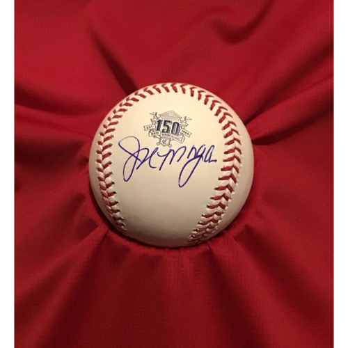 Photo of Joe Morgan Autographed 150 Baseball