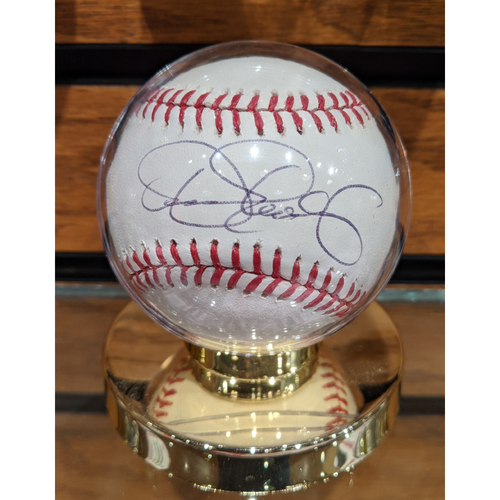 Photo of Dennis Eckersley Autographed Baseball