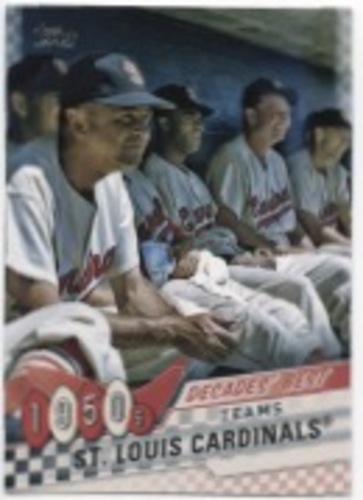 Photo of 2020 Topps Decades' Best Series 2 #DB3 St. Louis Cardinals BB