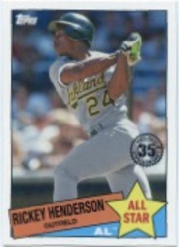 Photo of 2020 Topps '85 Topps All Stars #85AS6 Rickey Henderson