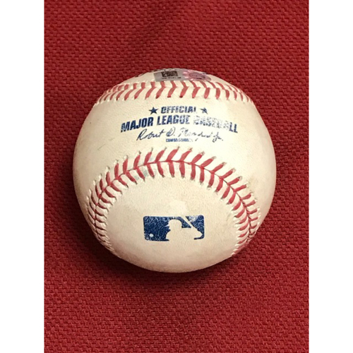 Photo of 8/2/20 Game-Used Baseball, Los Angeles Dodgers at Arizona Diamondbacks: Merrill Kelly vs. Mookie Betts (Line Out to Starling Marte)