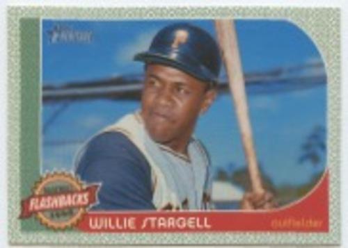 Photo of 2017 Topps Heritage Baseball Flashbacks #BFWS Willie Stargell