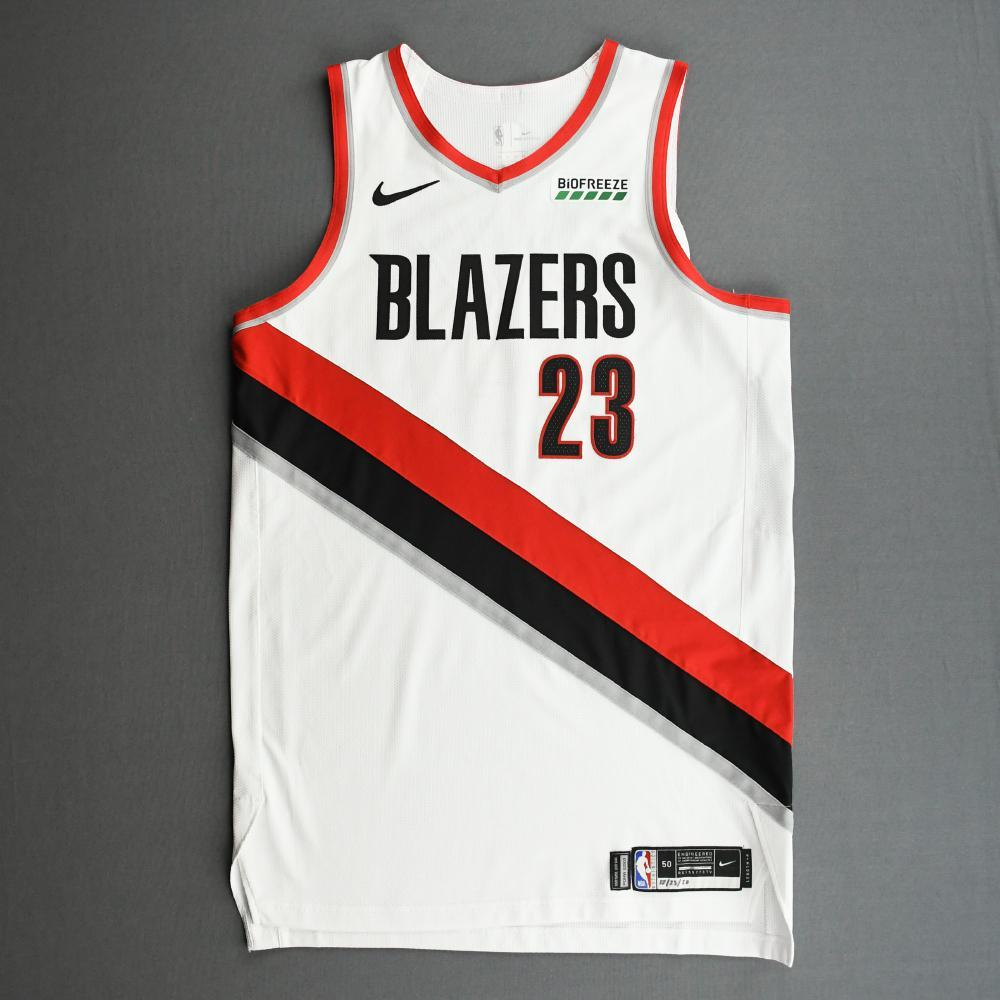 Robert Covington - Portland Trail Blazers - Kia NBA Tip-Off 2020 - Game-Worn Association Edition Jersey
