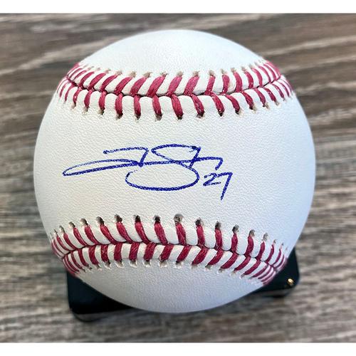 Photo of UMPS CARE AUCTION: Trevor Story Signed Baseball