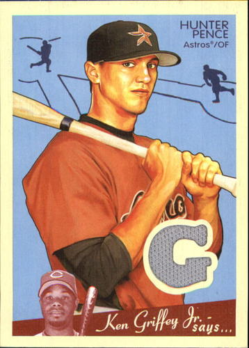Photo of 2008 Upper Deck Goudey Memorabilia #HP Hunter Pence