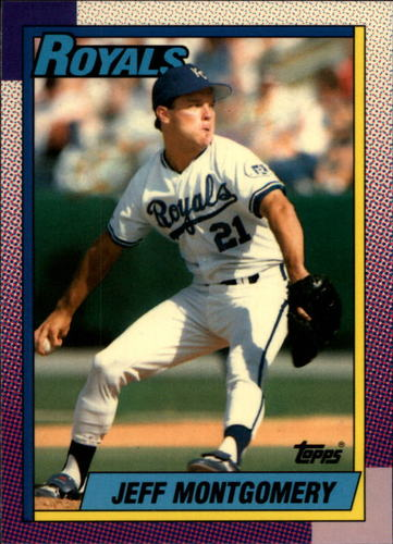 Photo of 1990 Topps Tiffany #638 Jeff Montgomery