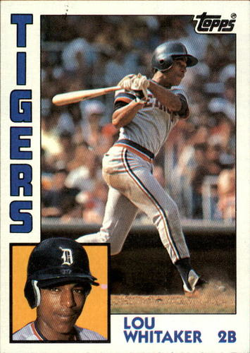 Photo of 1984 Topps #695 Lou Whitaker