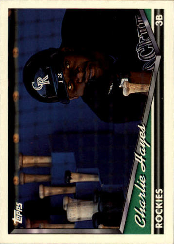 Photo of 1994 Topps #655 Charlie Hayes