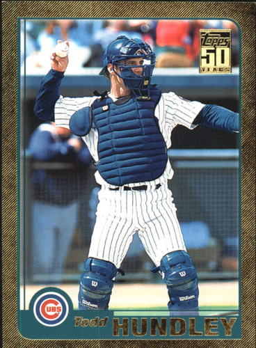 Photo of 2001 Topps Traded Gold #T21 Todd Hundley