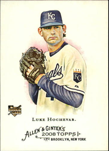 Photo of 2008 Topps Allen and Ginter #330 Luke Hochevar SP RC