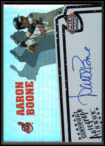 Photo of 2005 Topps Pack Wars Autographs #AB Aaron Boone D