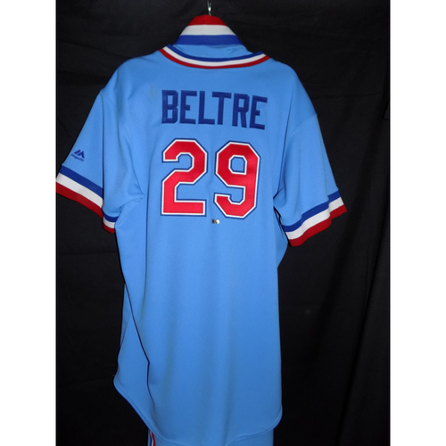 new arrival 44d5e 45faf MLB Auctions | Authentic Adrian Beltre #29 Game-Used 1977 ...