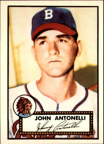 Photo of 1983 Topps 1952 Reprint #140 Johnny Antonelli