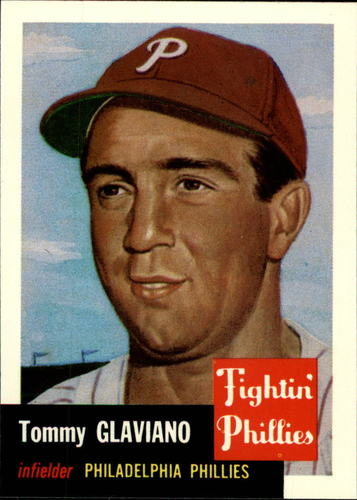 Photo of 1991 Topps Archives 1953 #140 Tommy Glaviano