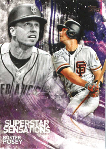 Photo of 2018 Topps Superstar Sensations #SSS50 Buster Posey
